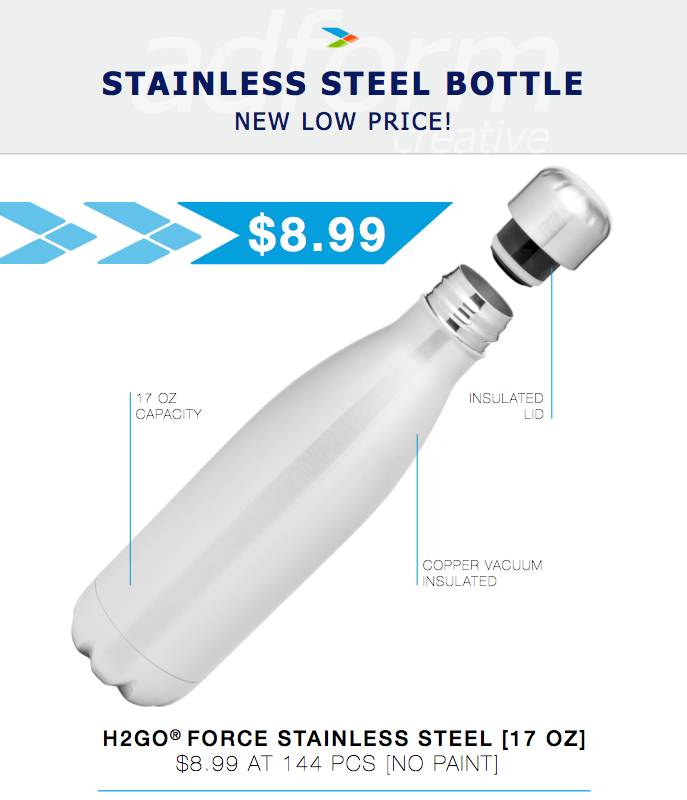 Stainless Steel Bottle Special